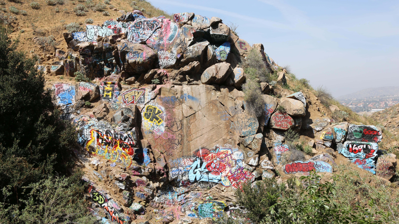 Graffiti Falls Far