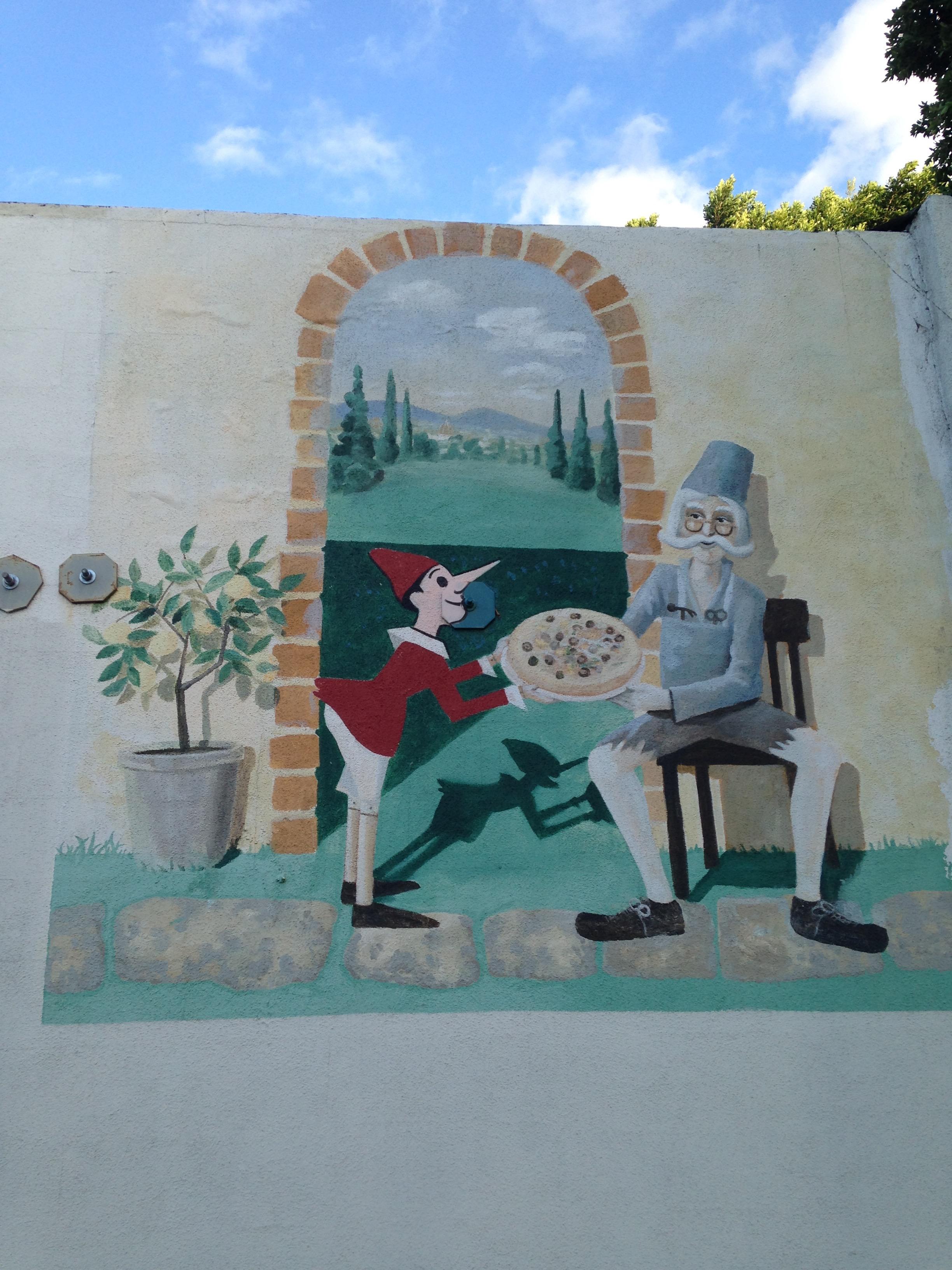Monte Carlo Pinocchio Restaurant   California Curiosities