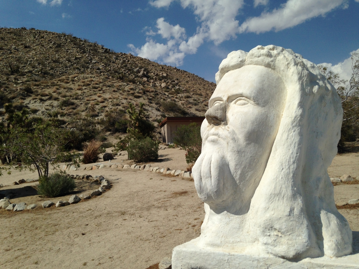 GIVE AND TAKE STATUES: Deeply Philosophical Statues off Route 395 ...
