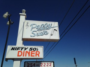 PEGGY SUES 1950S DINER